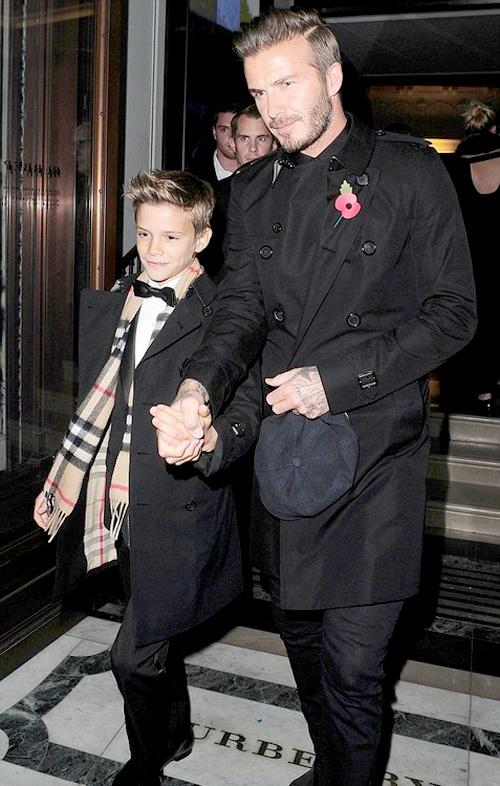 デヴィッド・ベッカム(David Beckham):バーバリー(Burberry)