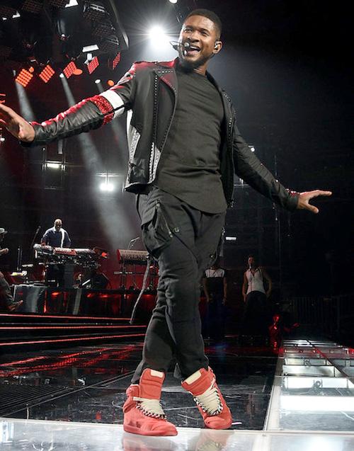 アッシャー(Usher):パイアー・モス(Pyer Moss)/メゾンマルタンマルジェラ(Maison Martin Margiela)