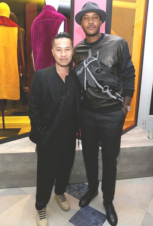 カーメロ・アンソニー(Carmelo Anthony):スリーワンフィリップリム(3.1 Phillip Lim)