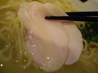 濃厚鶏そば 晴壱 濃厚鶏白湯そば(鶏チャーシュー)