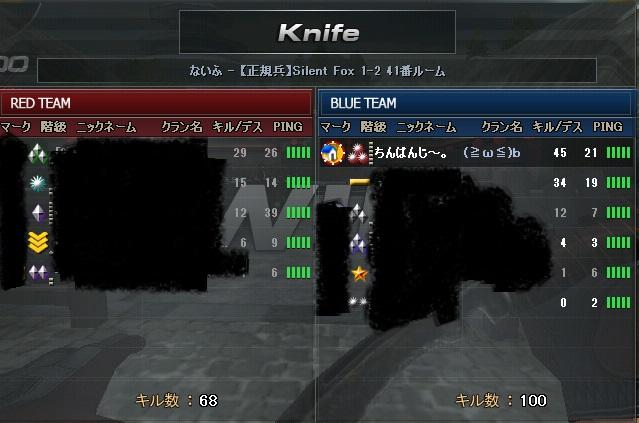 ナイフ戦2