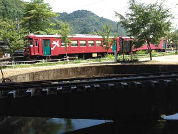 長良川鉄道 北濃駅