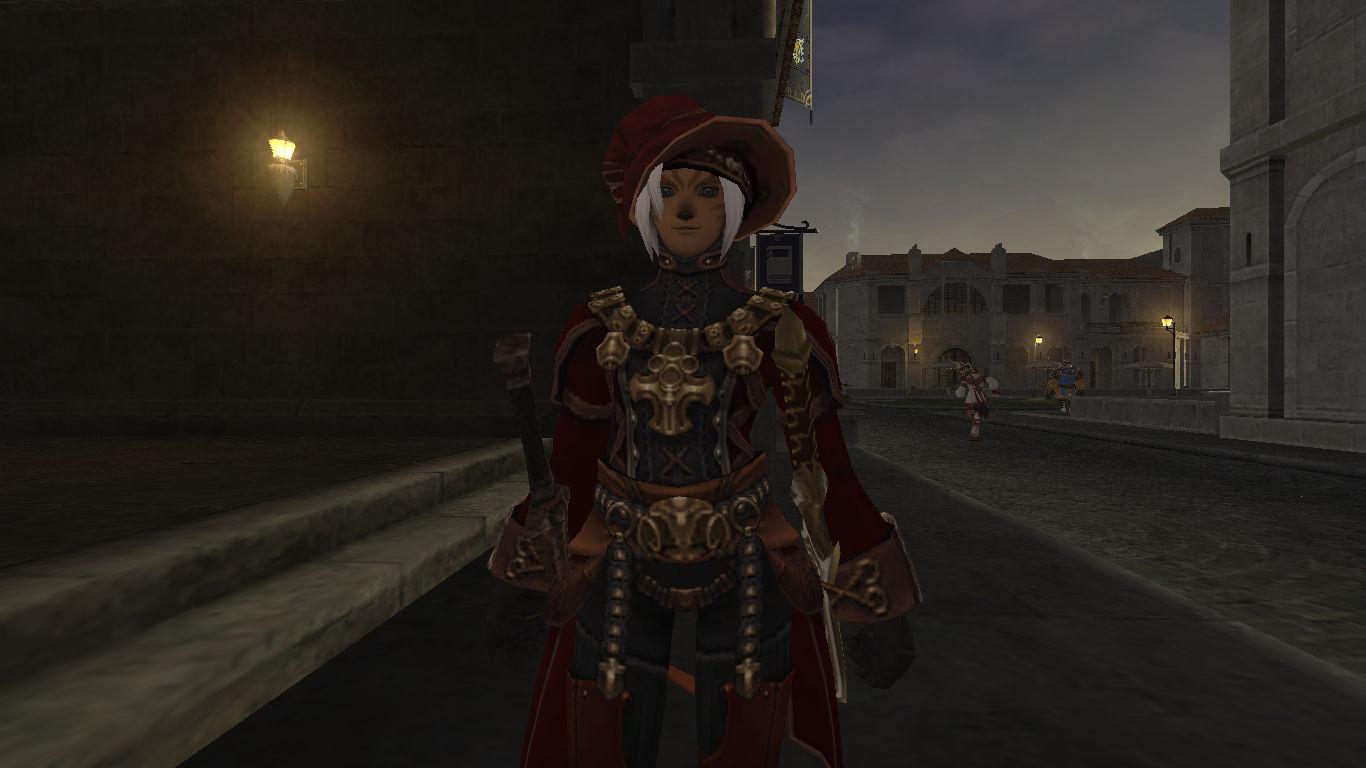 赤い青魔道士