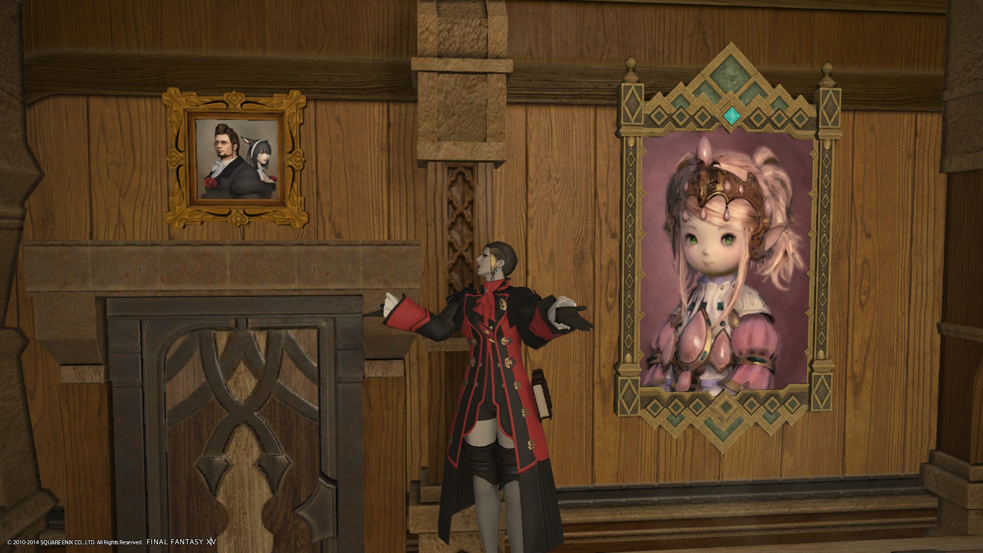 事件屋の肖像画