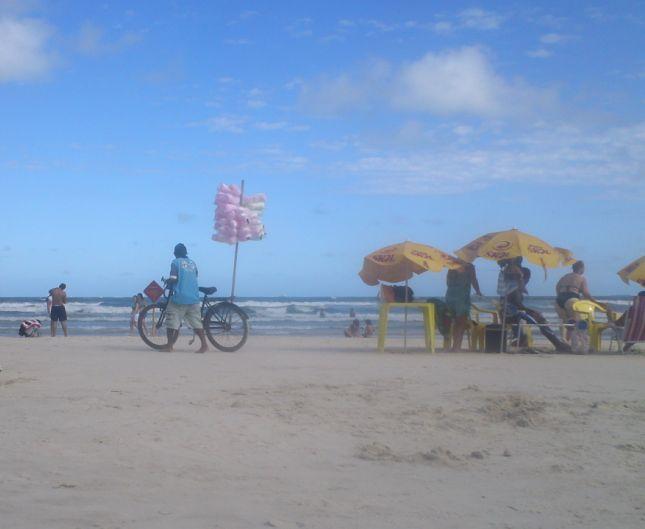 浜辺の商い2
