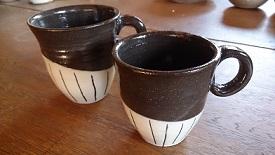 夫婦コーヒーカップ