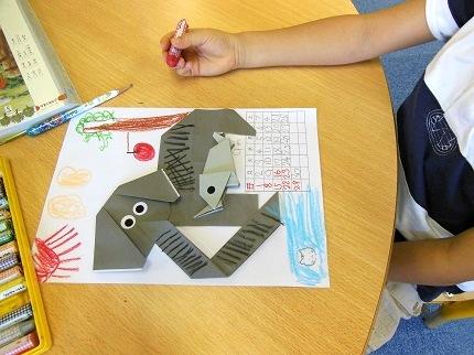 ゾウの折り紙