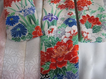 バービー振袖日本刺繍1