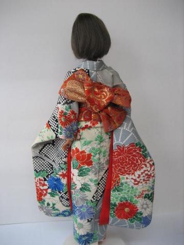 バービー振袖日本刺繍3