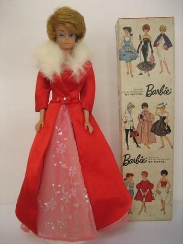 バービー赤ドレス3