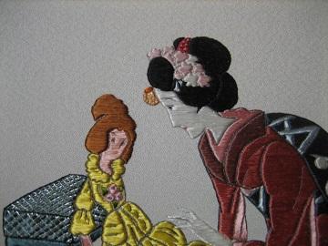 日本刺繍 夢二の額2