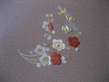 日本刺繍 花丸にあしらい4