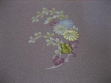 日本刺繍 花丸にあしらい7