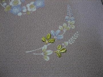 日本刺繍 花丸にあしらい8