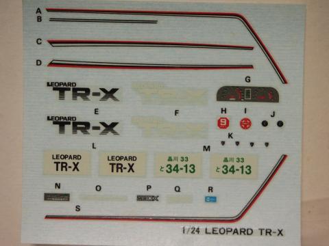 ニットー レパードTR-X