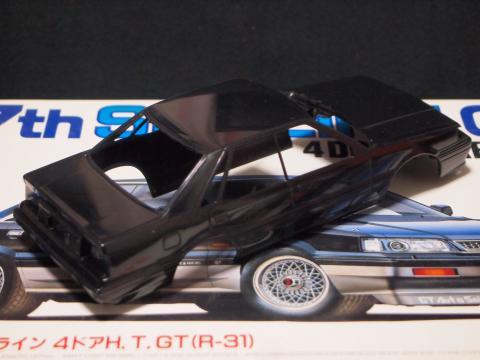 フジミ 7thスカイライン4ドアHT GT