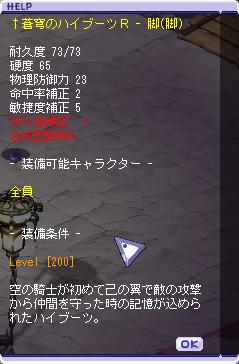 01-05 蒼穹のハイブーツR