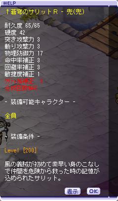 02-01 蒼穹のサリットR