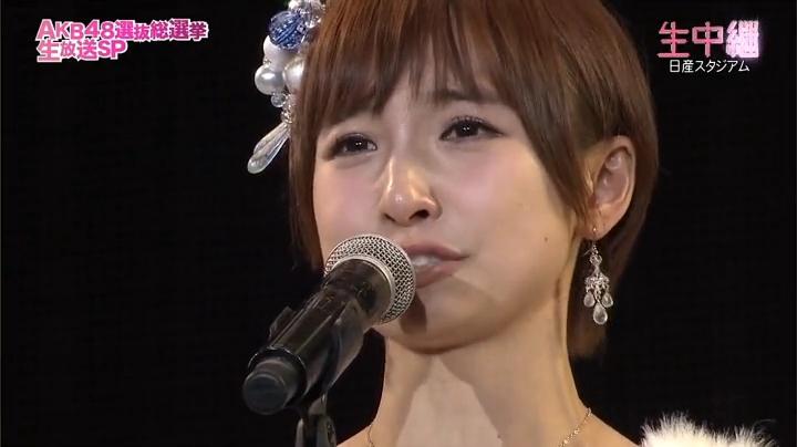 2013年AKB、篠田麻里子が退団宣言!「卒業します!」