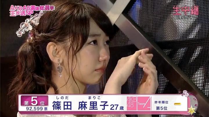 2013年AKB、篠田麻里子が退団宣言!退団を聞いて泣く柏木由紀