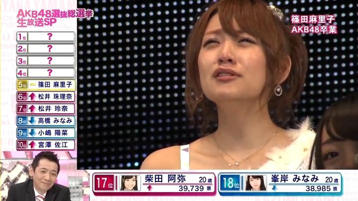 2013年AKB、篠田麻里子が退団宣言!「総監督を100年…」に戸惑う(?)