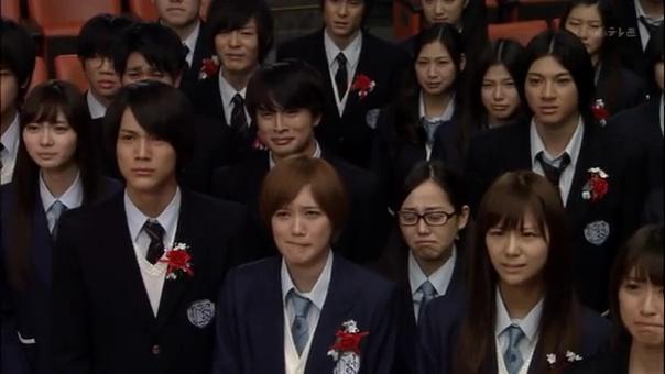 2代目【GTO】卒業SP「オメーらと一緒に居たい」に涙する生徒達