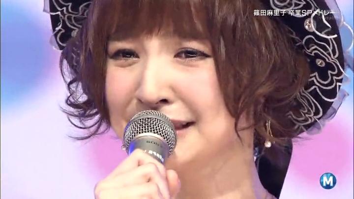 AKB48、さらば篠田麻里子!Mステにラスト出演!