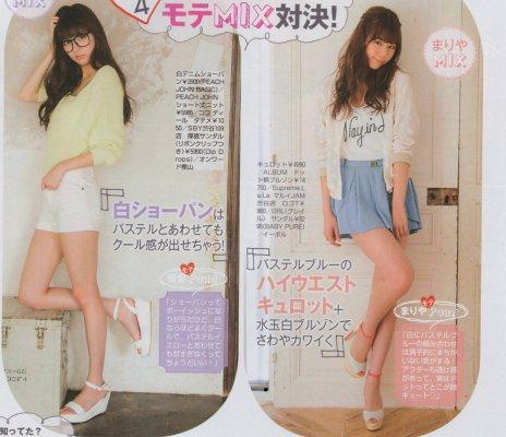 2代目【GTO】杏子と美姫が共演!?対決4、杏子MIX&美姫mix