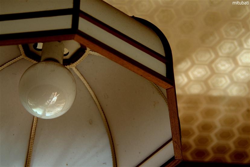 部屋の電気2