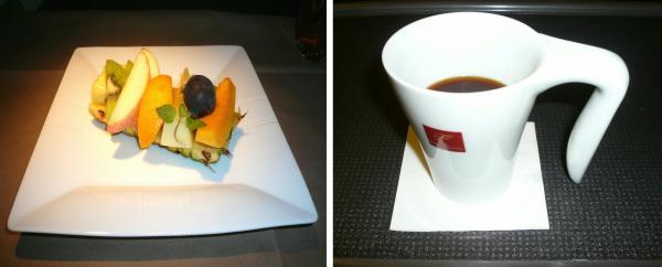 フルーツ&コーヒー