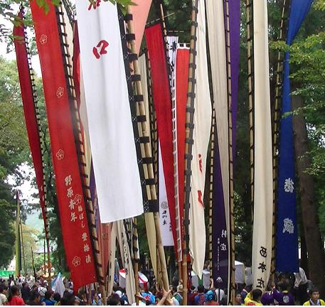 お祭り 旗
