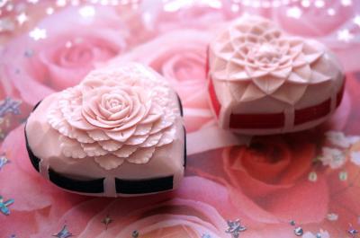 ソープカービング イメージ32 『バレンタイン ♡ ハート』 アトリエMKR
