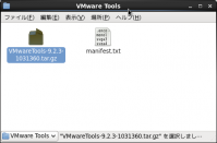 Screenshot-VMware Tools
