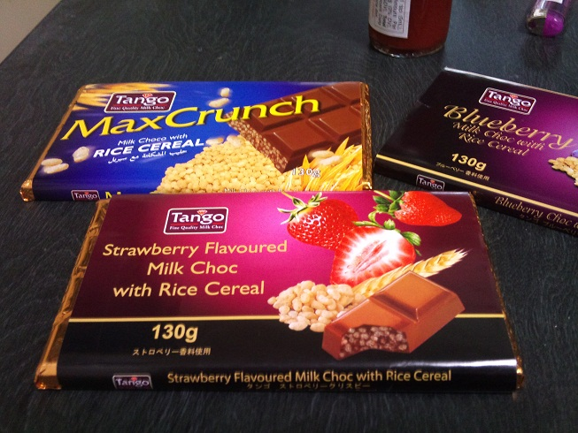 100円輸入チョコ