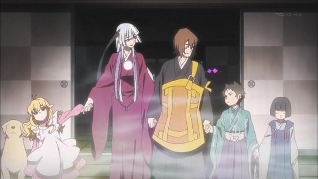 京騒戯画(TV) #1 ある一家の事情とその背景