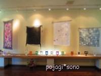 2013ジラソーレ ポジャギ展 スタンド