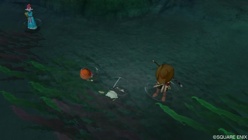 水死体を発見