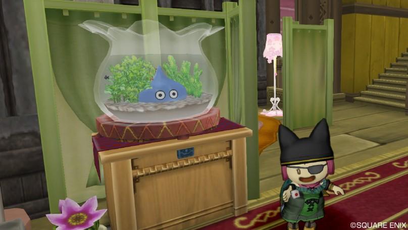 スライム金魚鉢