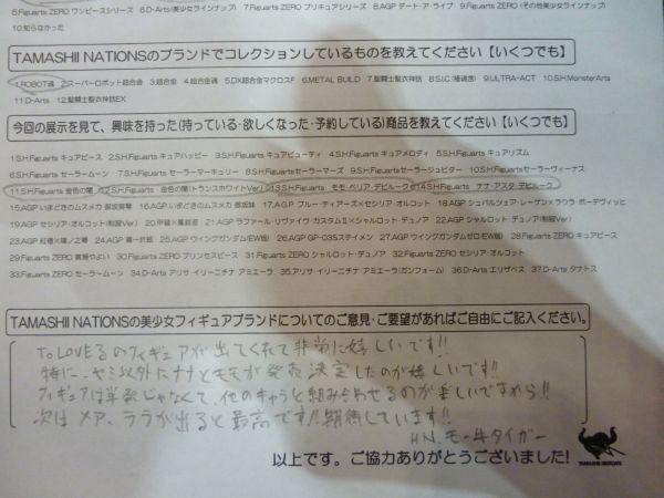 ワンフェス2013夏魂ネイションアンケート1