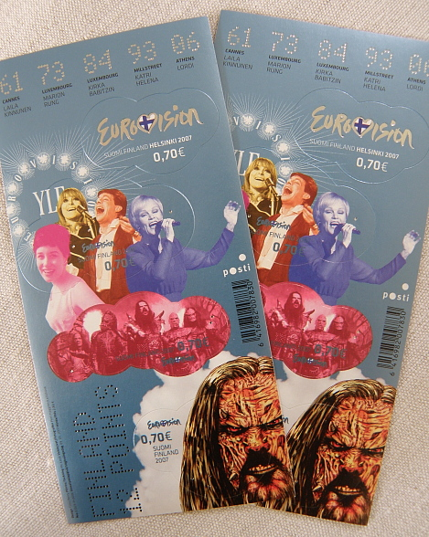 Postimerkki Eurovision