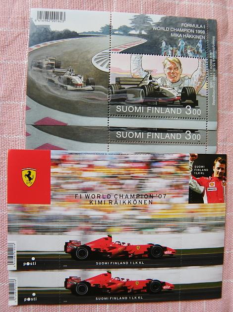 Postimerkki F1