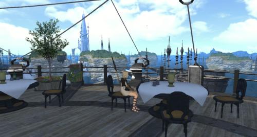 港街のレストラン