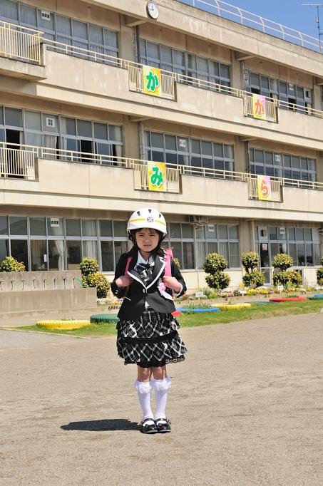 賀美小学校 入学式 021