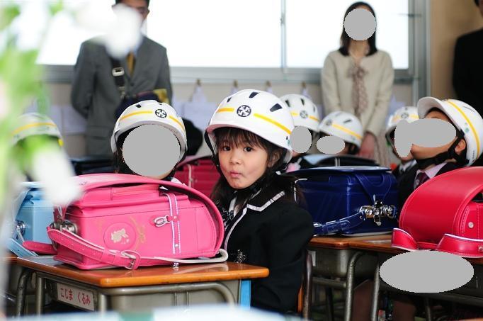 賀美小学校 入学式 016