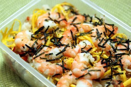 海老ちらし寿司弁当
