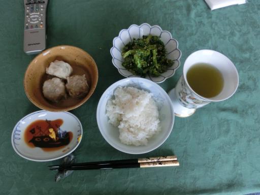 今日の昼食2