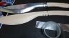 ブラックラグーンのシェンホアのククリナイフの製作画像。バルサ材を使用
