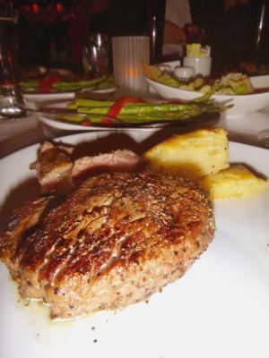 Fleming's ステーキ