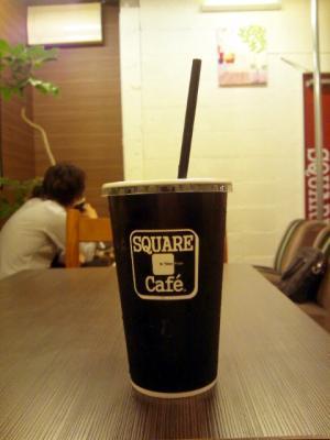 SQUARE Cafe フローズン マカダミアラテ