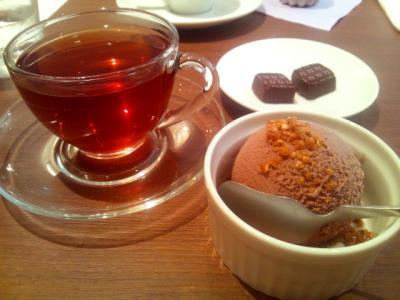 Joel Durand チョコレートアイス+アールグレイティー+ボンボンショコラ